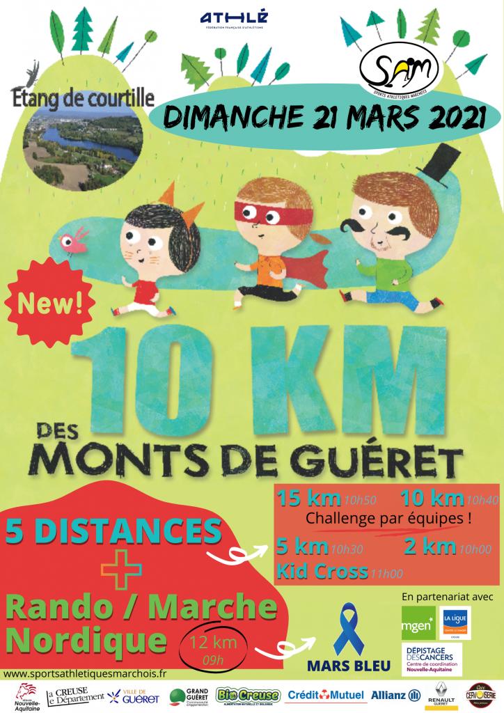 10 km des Monts de Guéret 2021